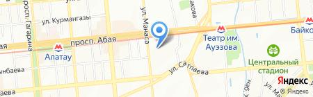 A & D торговая компания на карте Алматы