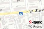Схема проезда до компании Мир слуха в Алматы