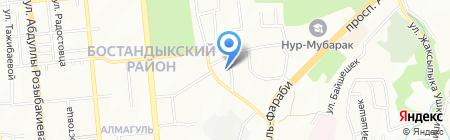 BI-Consulting компания на карте Алматы