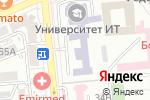 Схема проезда до компании Казахский медицинский университет непрерывного образования в Алматы