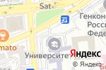 Схема проезда до компании Международный университет информационных технологий в Алматы