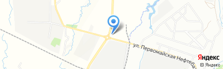 Лад-Алматы на карте Алматы