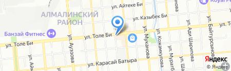 Катюша продовольственный магазин на карте Алматы