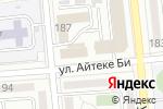 Схема проезда до компании Difol в Алматы