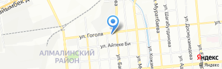 Салон красоты на карте Алматы