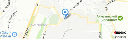 Стальторг на карте Алматы