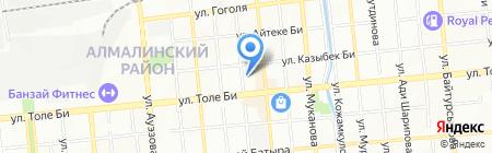 У Эли на карте Алматы