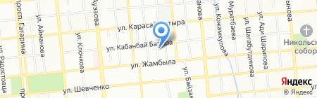 ЭльДа принт на карте Алматы