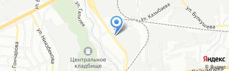 Производственная фирма на карте Алматы