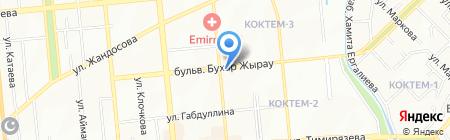 Государственный институт сельскохозяйственных аэрофотогеодезических изысканий на карте Алматы