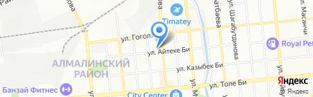 БТА Жизнь на карте Алматы