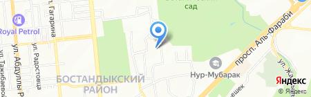 Колледж на карте Алматы