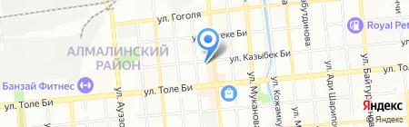 Земельные Ресурсы KZ на карте Алматы