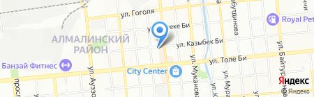 Гербалайф дистрибьюторский центр на карте Алматы