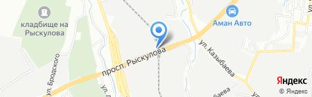 Мебельный цех на карте Алматы