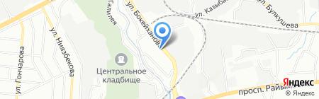 Арон и К на карте Алматы