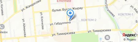 Ивек на карте Алматы