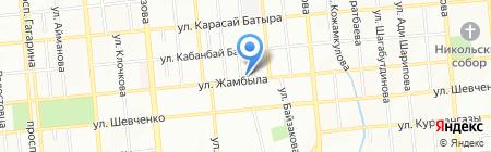BestBody на карте Алматы