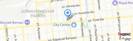 Детская городская поликлиника №3 на карте Алматы