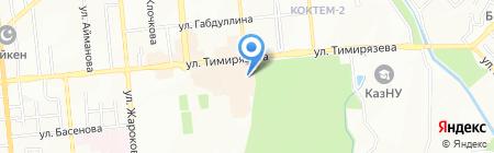 Уютный дом на карте Алматы