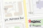Схема проезда до компании Творческая школа Даны Толеш в Алматы
