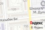 Схема проезда до компании Сакура в Алматы