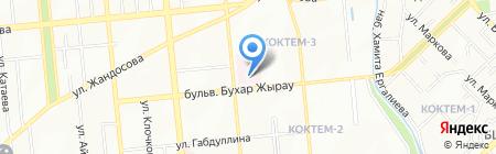Детская городская клиническая больница №1 на карте Алматы