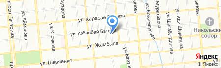 Эверестстрой ТОО на карте Алматы