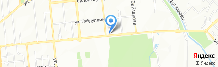Ателье 42 на карте Алматы