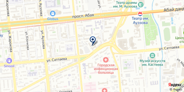Galamat Systems на карте Алматы