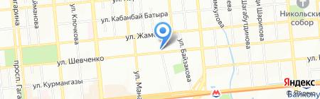 Альянс Полис на карте Алматы