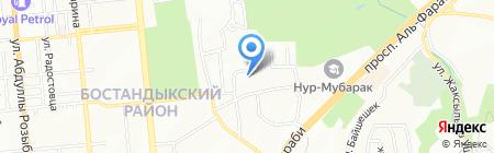 Фарм Сток KZ на карте Алматы