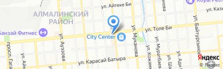 Айымай на карте Алматы