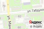 Схема проезда до компании DKM Denta clinic в Алматы