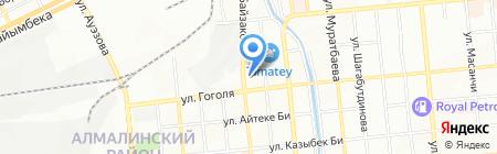 Recuerdo на карте Алматы