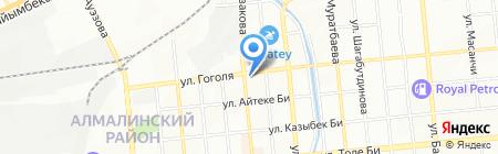 Детская стоматологическая поликлиника №1 на карте Алматы