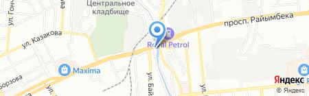 SMIRNOVV автосервис на карте Алматы