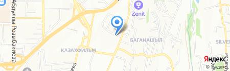Дорснаб на карте Алматы