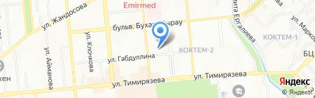 Interschool на карте Алматы
