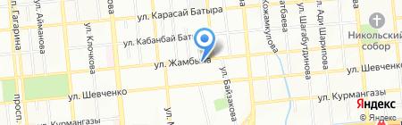DEMEU-TOUR на карте Алматы