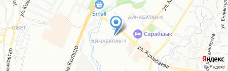 Амаль creative на карте Алматы