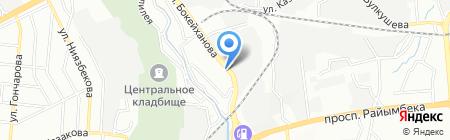 Пожсервис на карте Алматы