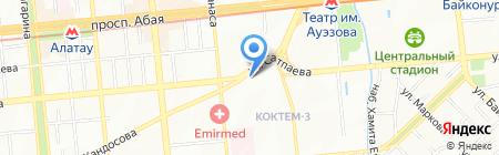 Генеральное консульство Российской Федерации в г. Алматы на карте Алматы