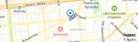 Europharma на карте Алматы