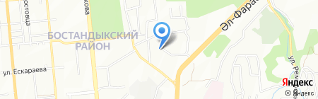 Asia InterCommunications на карте Алматы