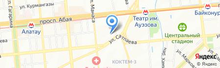 Институт директоров на карте Алматы
