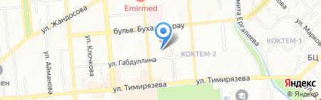 Ажио на карте Алматы
