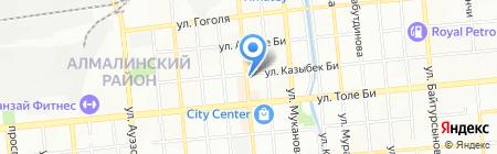 Ouverture на карте Алматы