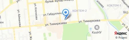 Munai Eco Engineering на карте Алматы