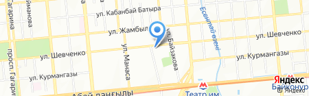 ANKA на карте Алматы